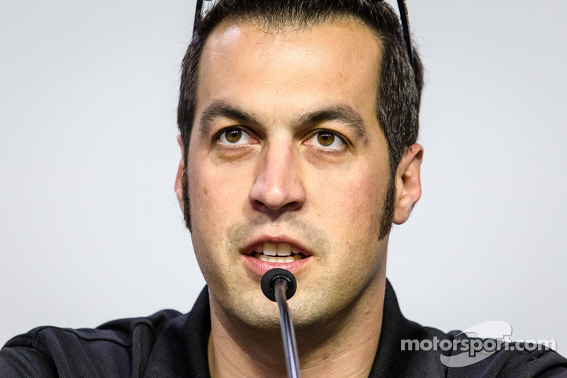 Persconferentie titelfavorieten:  NASCAR Nationwide Series kanshebber Sam Hornish Jr.
