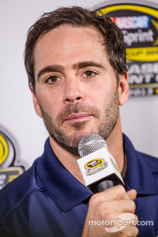 Coletiva de imprensa: Jimmie Johnson, Hendrick Motorsports Chevrolet