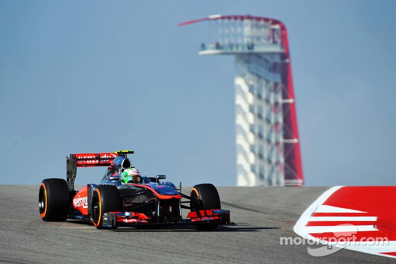 Anuncio de su salida de McLaren, GP de Estados Unidos 2013