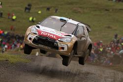 Mikko Hirvonen y Jarmo Lehtinen, Citroën DS3 WRC, Citroën Total Abu Dhabi World Rally Team