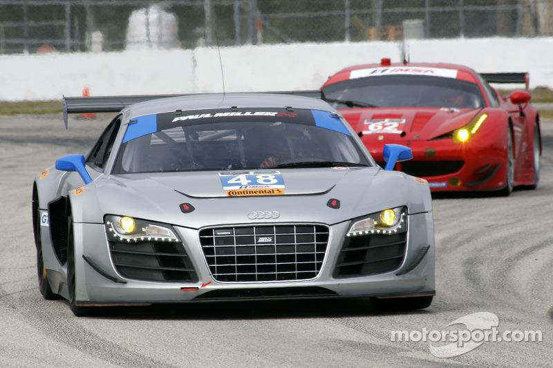 Paul Miller Racing Audi R Bryce Miller Follow Ferrari Corse - Paul miller audi