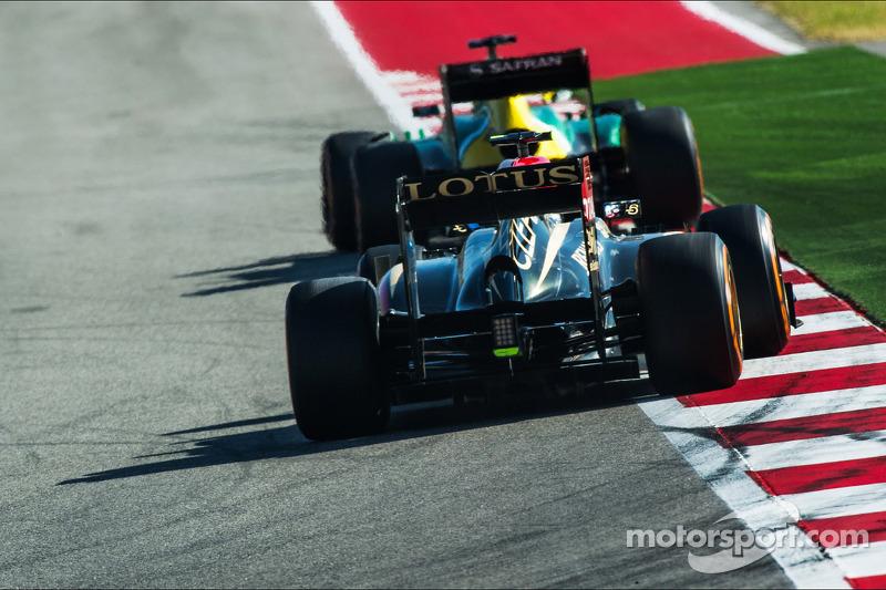 Charles Pic, Caterham CT03 voor Romain Grosjean, Lotus F1 E21