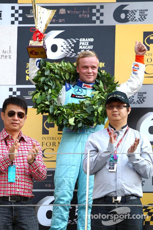 Segundo colocado Felix Rosenqvist