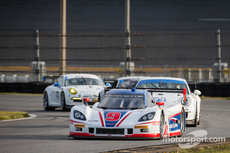 #9 Action Express Racing Corvette DP: Christian Fittipaldi, Bradley Smith