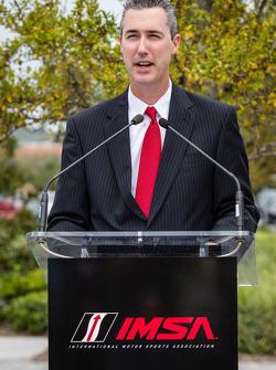 IMSA CEO Ed Bennett