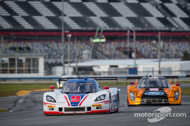 #9 Action Express Racing Corvette DP: Christian Fittipaldi, Bradley Smith, #60 Michael Shank Racing