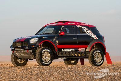 Présentation Dakar du X-Raid Mini