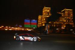#77 MRS GT Racing McLaren MP4-12C: Mark Thomas, Khaled Al-Mudhaf