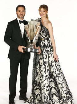 2013 champion Jimmie Johnson and his wife Chandra Johnson