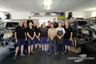 Team Ford Racing Dakar voorbereiding
