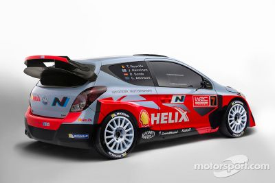 Hyundai i20 WRC lansmanı