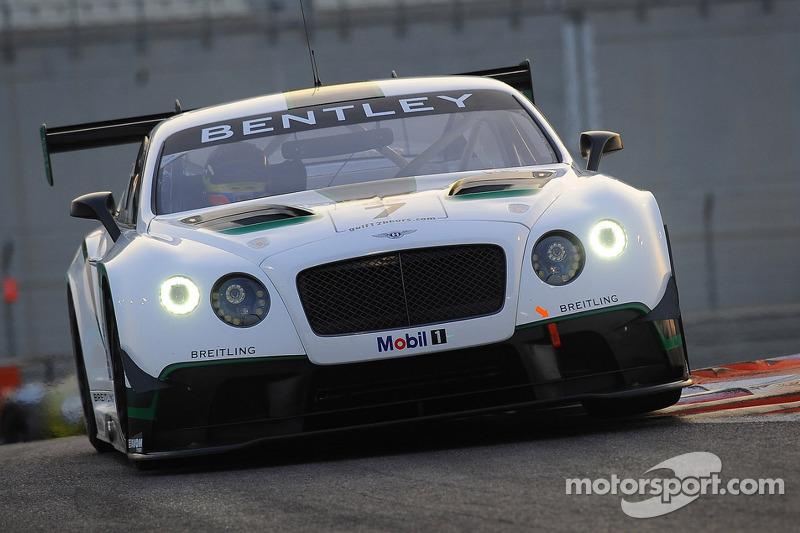 #7 M-Sport Bentley Continental GT3: Guy Smith, Steven Kane, Andy Meyrick