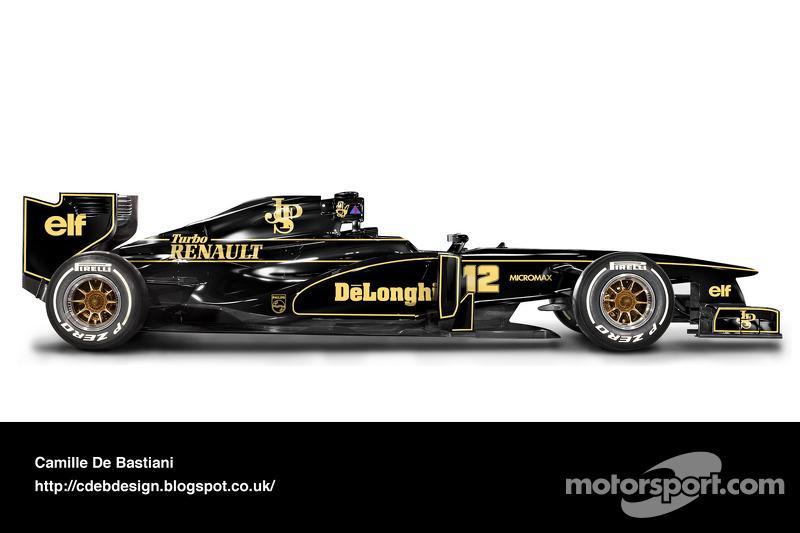 Auto Retro F1 - Lotus 1986 V2