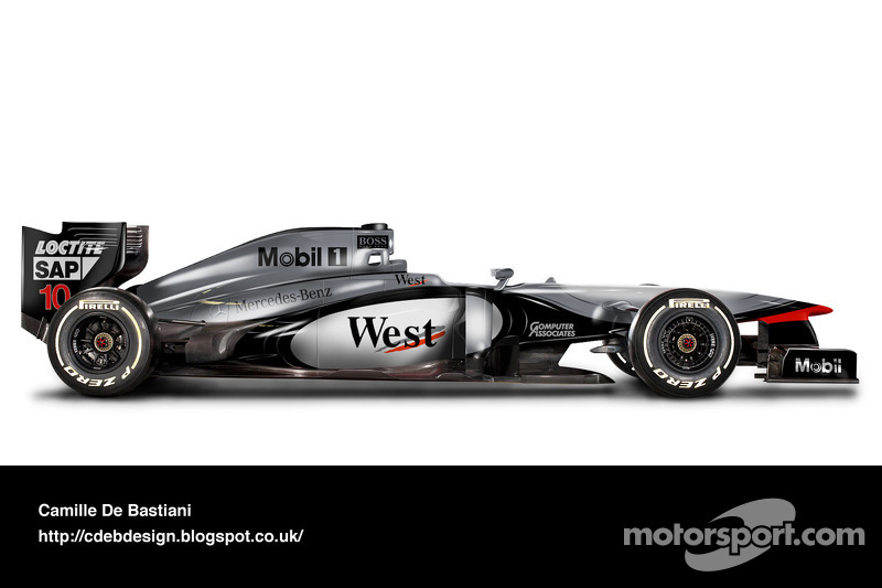 Formel-1-Auto im Retrodesign: McLaren 1997