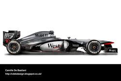 Retro F1 car - McLaren 1997