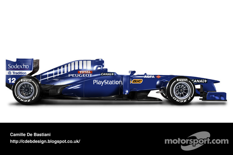 Auto Retro F1 - Prost 1998