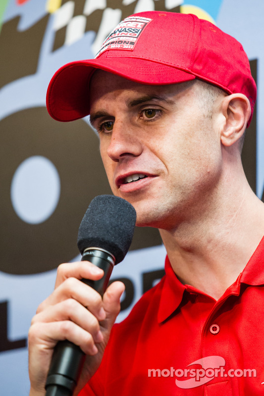 Coletiva de imprensa da Chip Ganassi Racing: Marino Franchitti