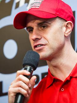 Chip Ganassi Racing press conference: Marino Franchitti