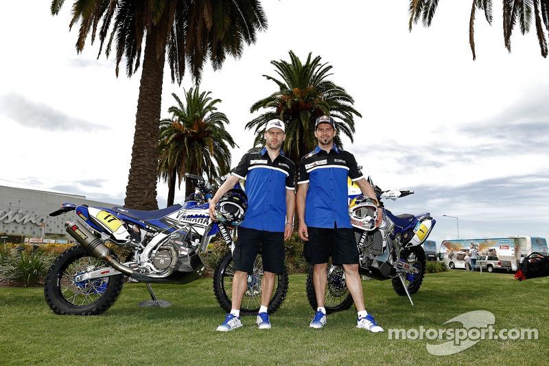 Yamaha piloti Michael Metge, Cyril Despres