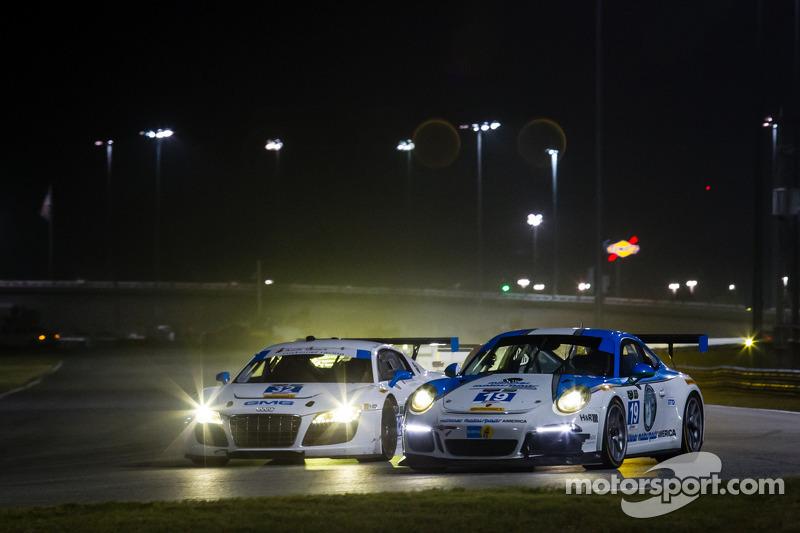 #32 GMG Racing Audi R8 LMS: James Sofronas, Alex Welch, Frank Stippler, Marc Basseng e #19 Muehlner