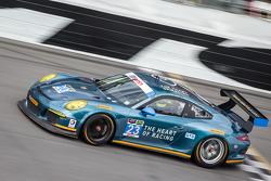 #23 Team Seattle / Alex Job Racing Porsche 911 GT America: Ian James, Mario Farnbacher, Alex Riberas, Marco Holzer