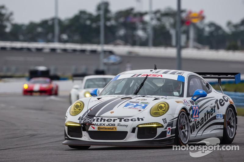 #22 Alex Job Racing Porsche 911 GT America: Cooper MacNeil, Leh Keen, Louis-Philippe Dumoulin, Shane van Gisbergen