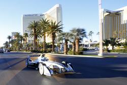 Spark-Renault SRT-01E on Las Vegas Boulevard