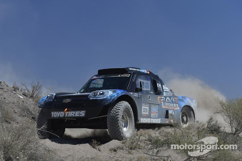#320 Chevrolet: Guerlain Chicherit, Jean Brucy