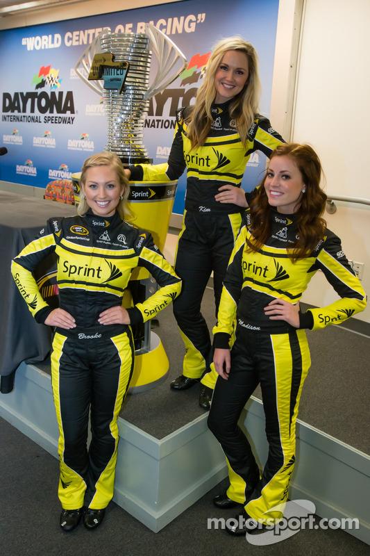 Le affascinanti ragazze Sprint Cup