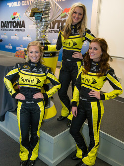 The charming Sprint Cup girls