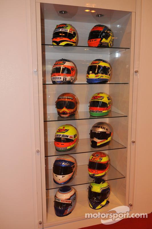Zip Karts capacetes