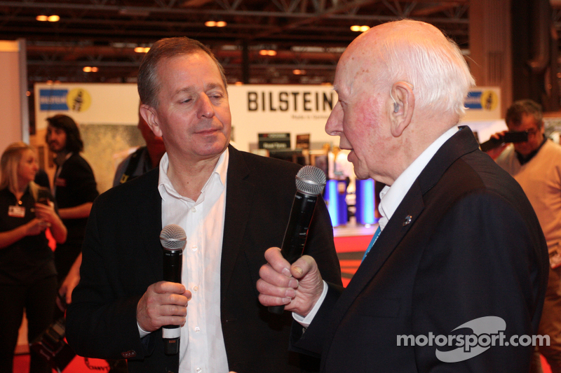 John Surtees e Martin Brundle