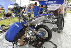 Yamaha área equipe