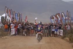 Bike category winner Marc Coma