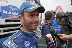 Truck category winner Eduard Nikolaev