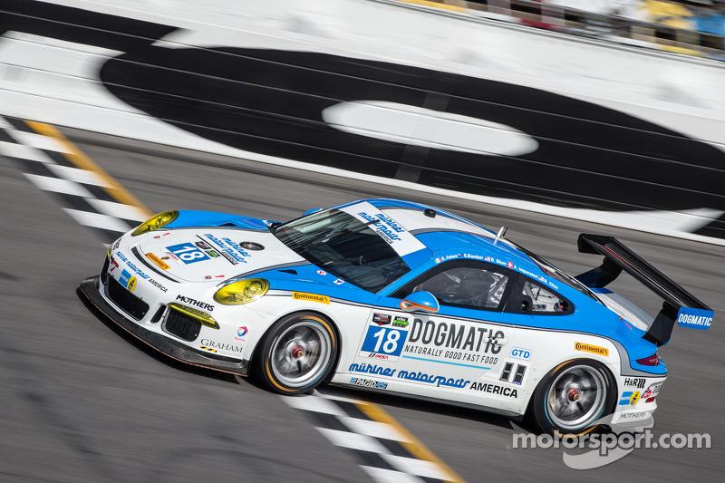 #18 Muehlner Motorsports America Porsche 911 GT America: Earl Bamber, Eugenio Amos, Bradley Blum, Alexandre Imperatori, Ronald Zitza