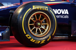 Pirelli tyre on the new Scuderia Toro Rosso STR9