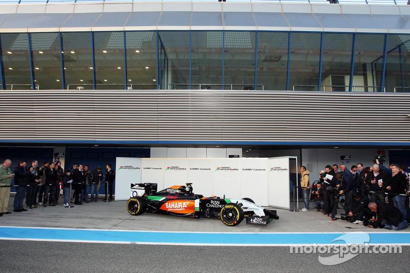 Il lancio della nuova Sahara Force India F1 VJM07