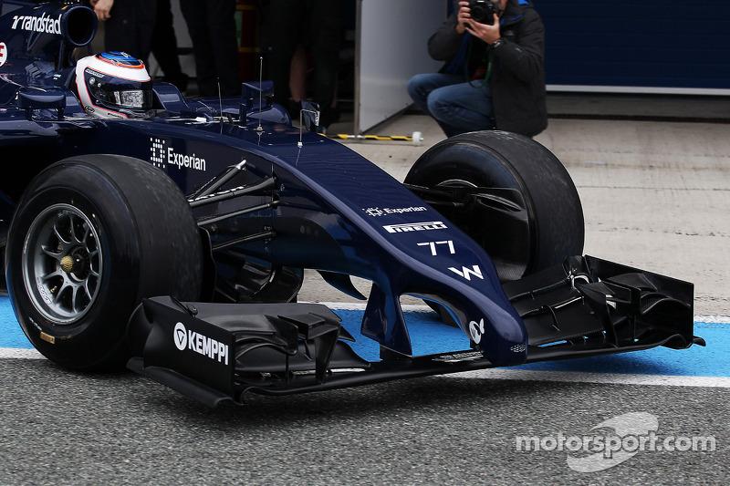 Valtteri Bottas, Williams FW36 lascia i box