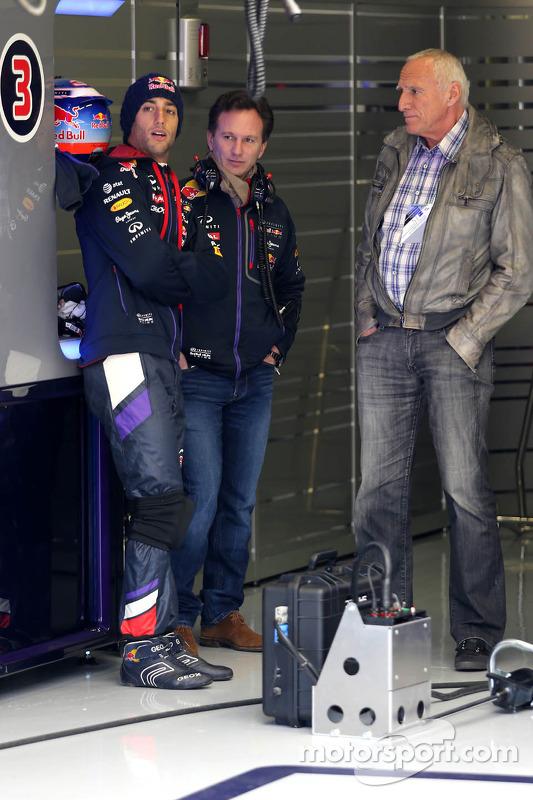 Daniel Ricciardo, Red Bull Racing, Christian Horner, Red Bull Racing, Sportif Direktör ve Dietrich M