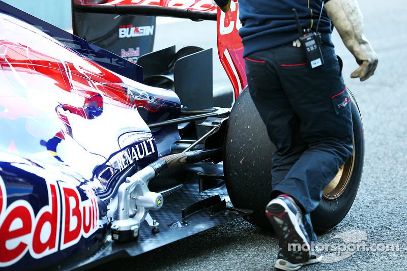 La Scuderia Toro Rosso STR9 di Jean-Eric Vergne, Scuderia Toro Rosso