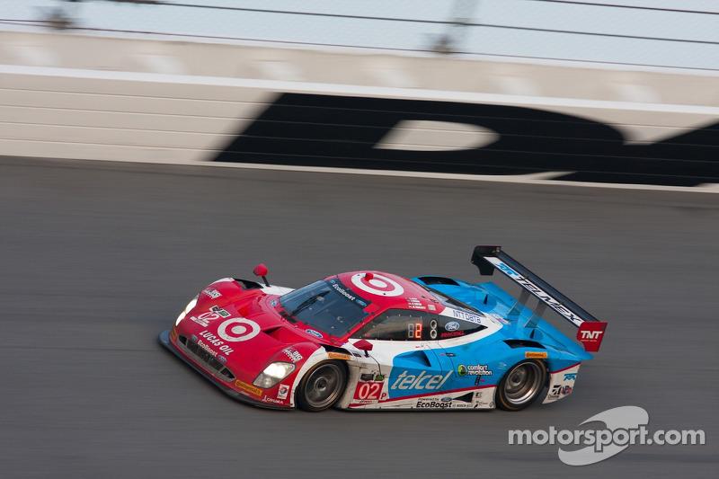 #02 Chip Ganassi Racing Riley DP 福特 EcoBoost: 托尼·卡南, 凯利·拉尔森, 马里诺·弗兰奇蒂, 斯科特·迪克森