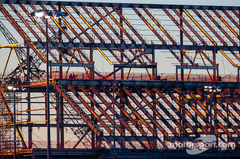 Daytona Rising inşaatı