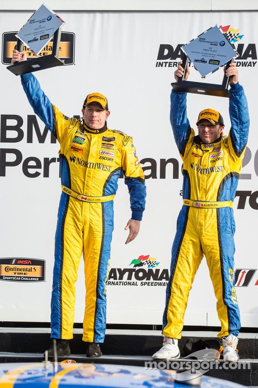 GS Podyumu: Yarış galipleri Bill Auberlen ve Paul Dalla Lana