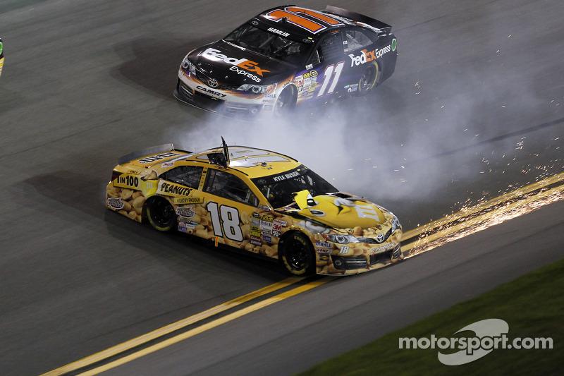 Problemi per Kyle Busch, Joe Gibbs Corsa Toyota