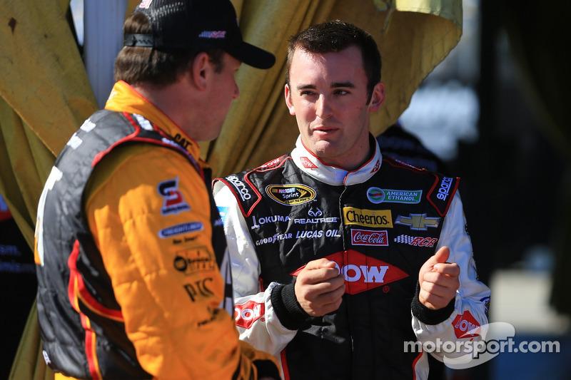 Austin Dillon, Richard Childress Racing Chevrolet and Ryan Newman, Richard Childress Racing Chevrolet