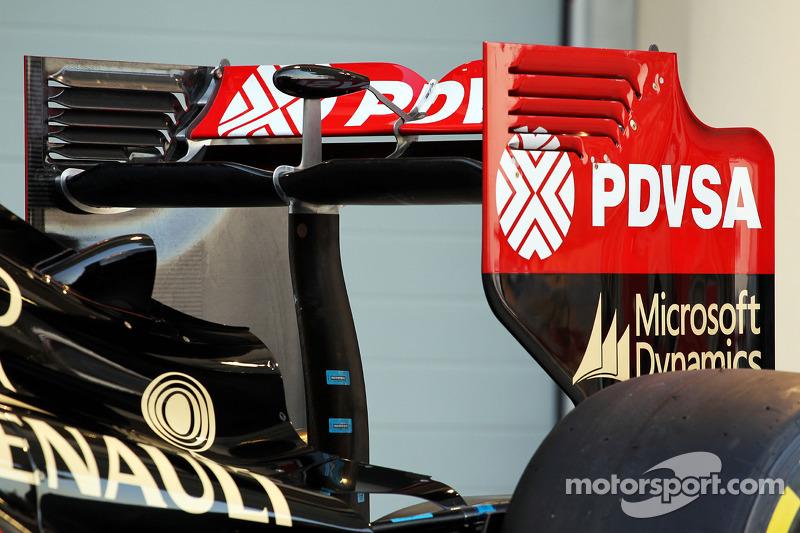 La Lotus F1 E22 è ufficialmente svelata - ala posteriore ala