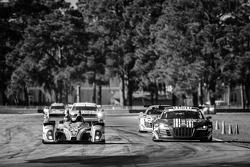#25 8Star Motorsports ORECA FLM09 Chevrolet: Enzo Potolicchio, Tom Kimber-Smith, Michael Marsal, #46 Fall-Line Motorsports Audi R8 LMS: Charles Putnam, Charles Espenlaub, Christopher Mies