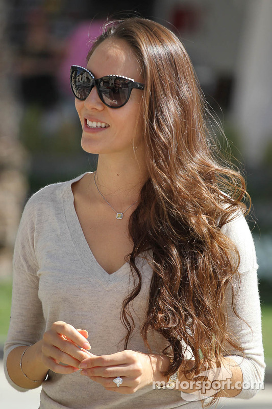 Jessica Michibata, fidanzata di Jenson Button, McLaren