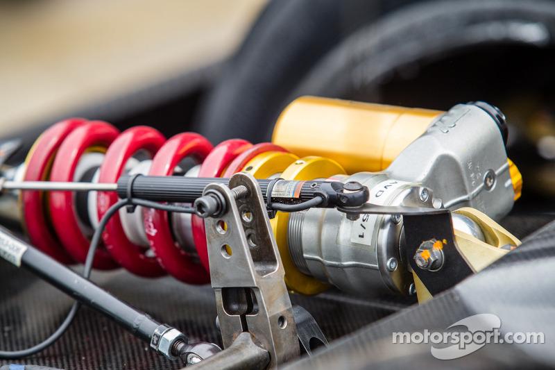 #42 OAK Racing 摩根 日产 悬挂细节